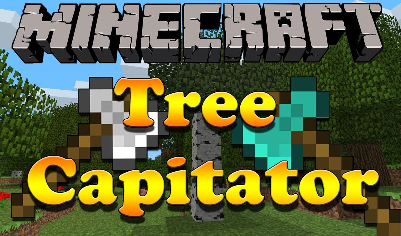 我的世界1.7.2砍树MOD Tree Capitator