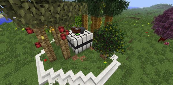 我的世界1.12.2/1.12.1林业Forestry Mod