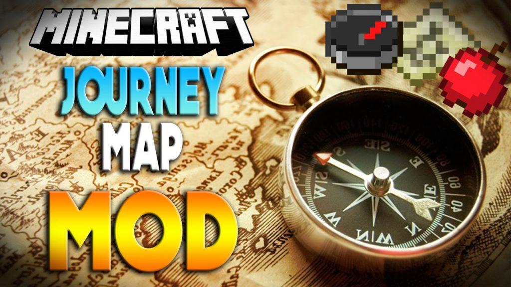 我的世界1.9旅行地图JourneyMap 下载