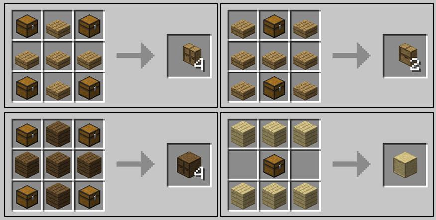 我的世界1.12.1储物抽屉Storage Drawers Mod