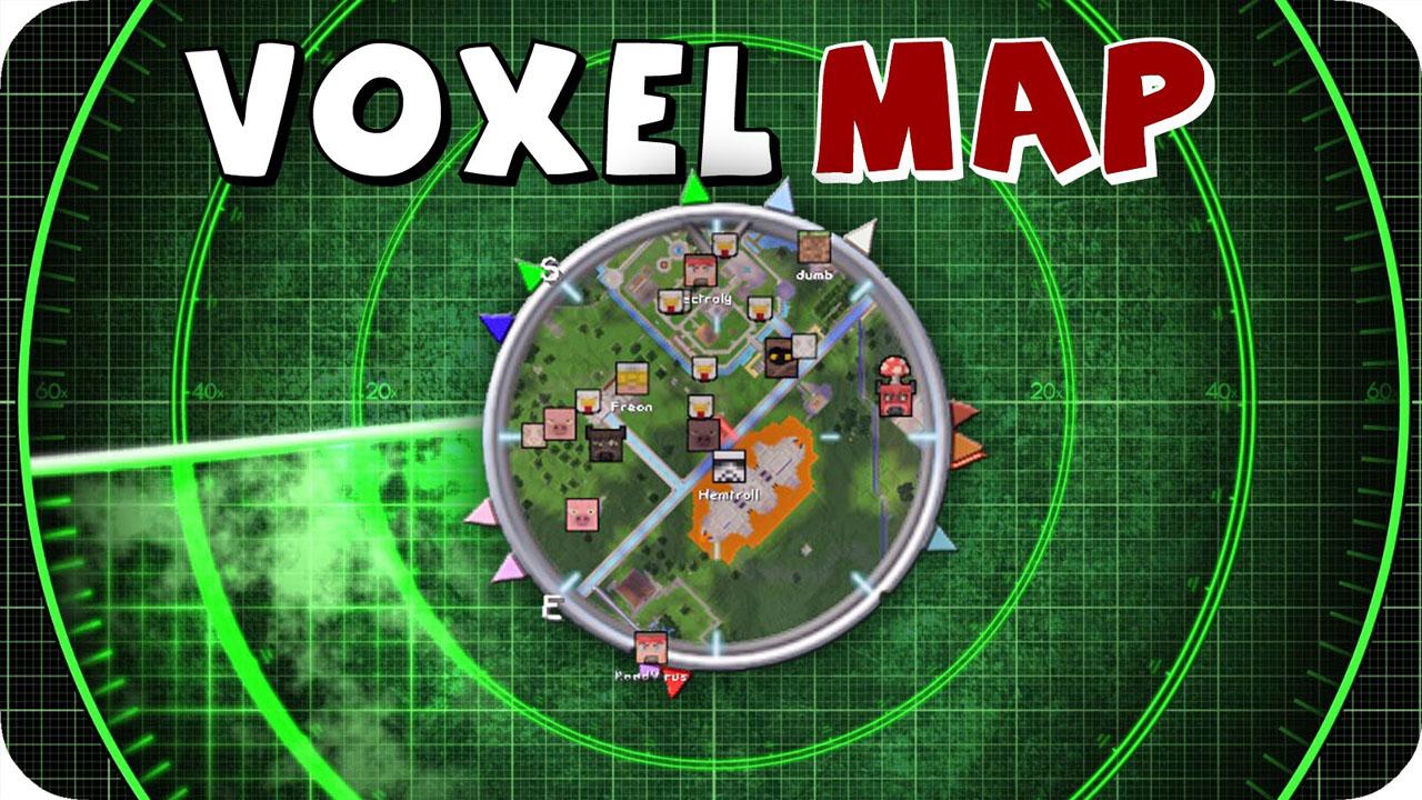 我的世界1.7.2 Voxelmap小地图MOD下载
