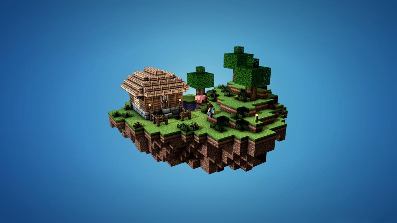我的世界Minecraft-Steve系列高清壁纸(1920*1080)欣赏