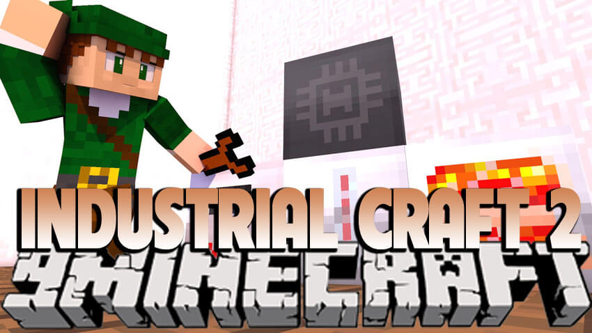 Industrial Craft(工业)2 MOD