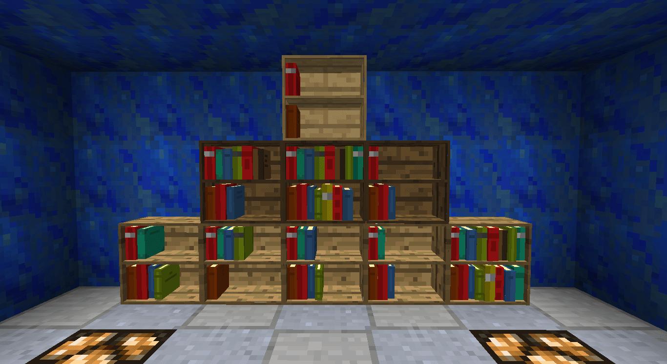 展示柜(BiblioCraft)MOD