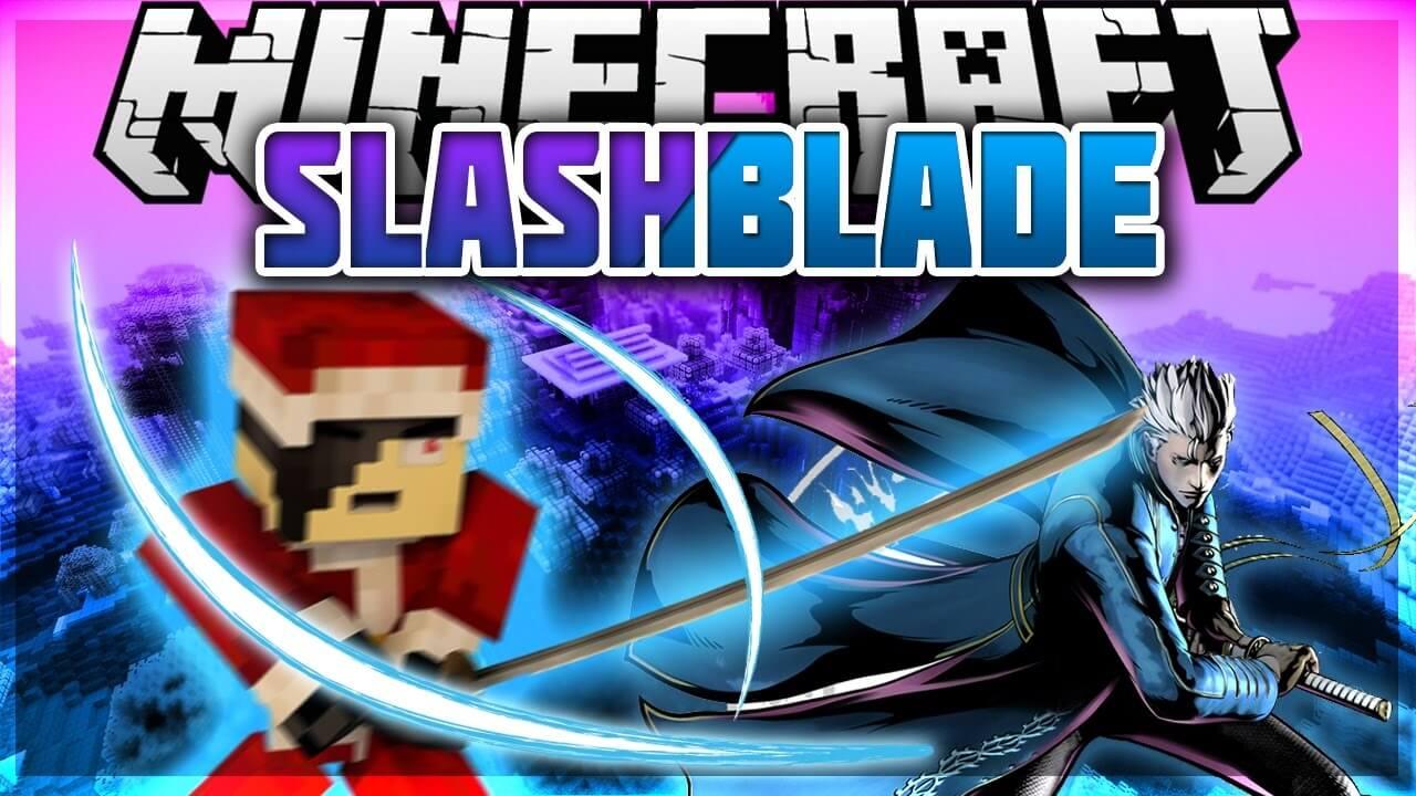 我的世界1.14.4拔刀剑(SlashBlade)MOD下载